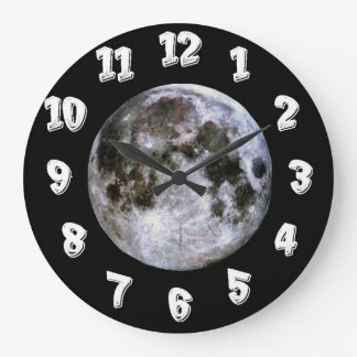 Relógio Grande Lua cheia