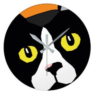 Relógio Grande Lucas o pulso de disparo de parede do pop art do