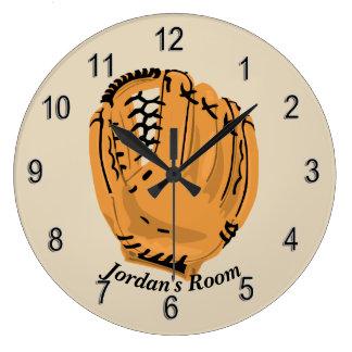 Relógio Grande Luva de basebol do pulso de disparo das crianças