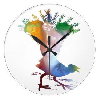 Relógio Grande Lyrebird
