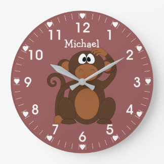 Relógio Grande Macaco