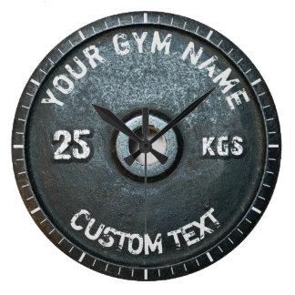 Relógio Grande Malhação do proprietário ou do usuário do Gym do