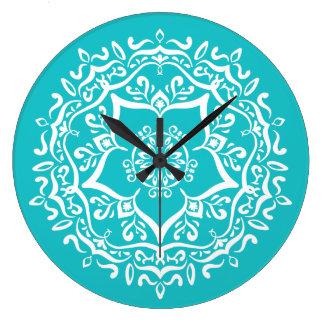 Relógio Grande Mandala de Oceana