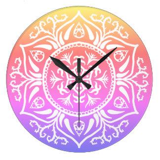 Relógio Grande Mandala de Rosenn da edição especial