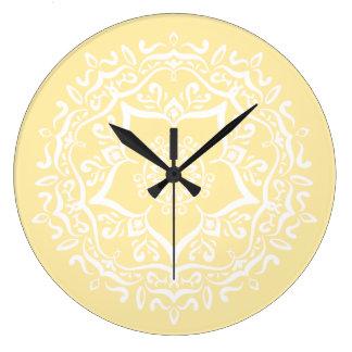 Relógio Grande Mandala do pergaminho