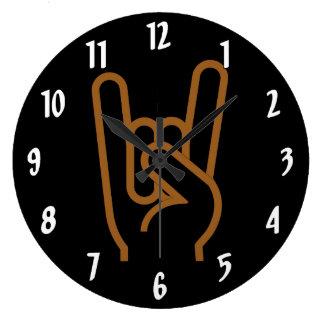 Relógio Grande Mão do metal