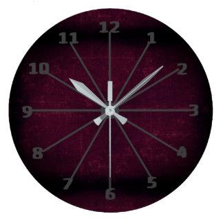 Relógio Grande Marrom de Brown escuro