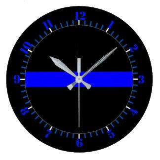 Relógio Grande Memorial simbólico fino de Blue Line em a