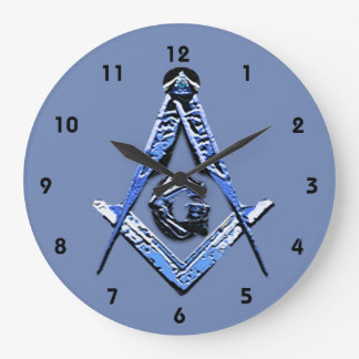 Relógio Grande Mentes maçónicas (azuis)