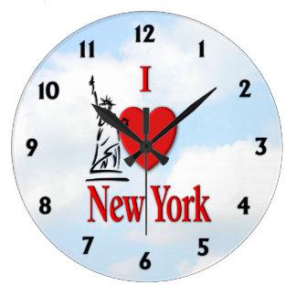 Relógio Grande Mim amante NY