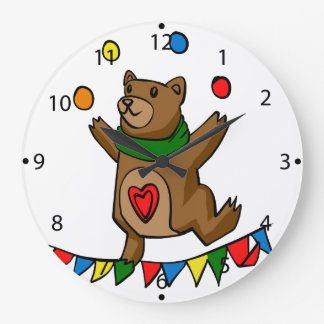 Relógio Grande Mnanipulação do urso