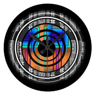 Relógio Grande Monograma futuro nórdico