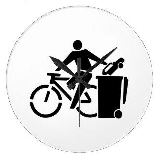 Relógio Grande Monte uma bicicleta não um carro