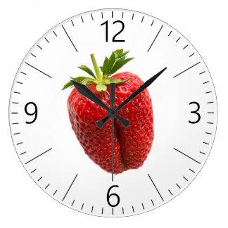 Relógio Grande Morango