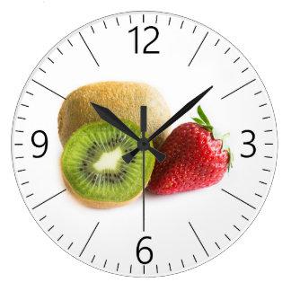 Relógio Grande Morango e quivi