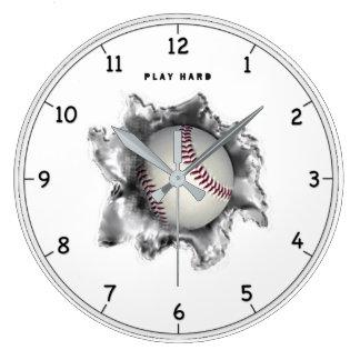 Relógio Grande Motivação do basebol