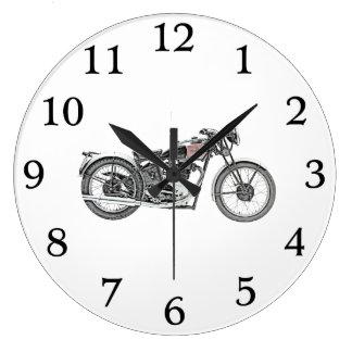 Relógio Grande Motocicleta 1938 do guerreiro das maravalhas