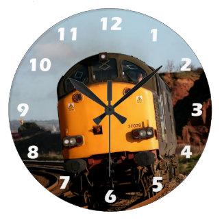 Relógio Grande Motor diesel da classe 37, número 37038, com