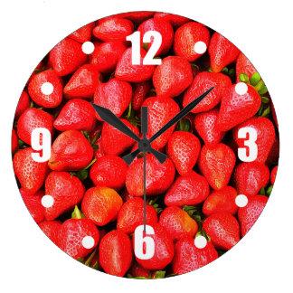 Relógio Grande Muitas morangos!