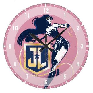 Relógio Grande Mulher maravilha da liga de justiça | & de ícone
