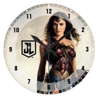 Relógio Grande Mulher maravilha da liga de justiça | no campo de