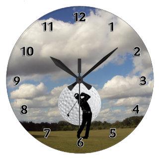 Relógio Grande Mundo do golfe