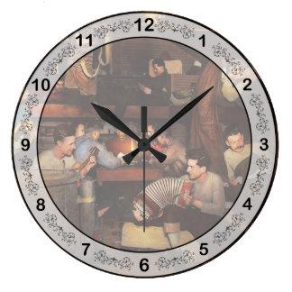 Relógio Grande Música - sessão de doce 1918
