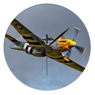 Relógio Grande Mustang norte-americano de P-51D