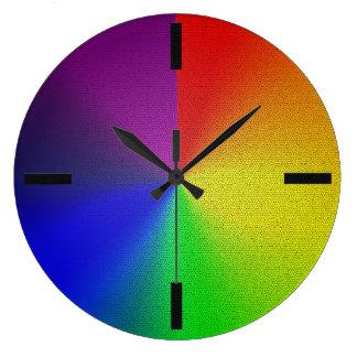 Relógio Grande MyPride365 - Pulso de disparo do arco-íris