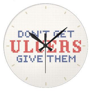 Relógio Grande Não fique úlceras