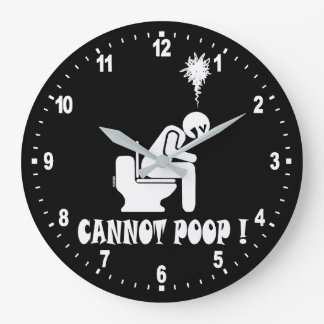 Relógio Grande Não pode o tombadilho!