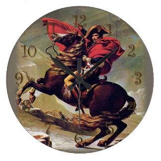 Relógio Grande Napoleon a cavalo