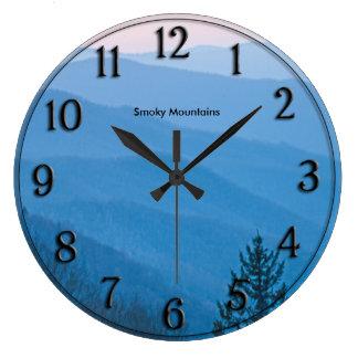 Relógio Grande Nascer do sol fumarento Newfound da montanha de