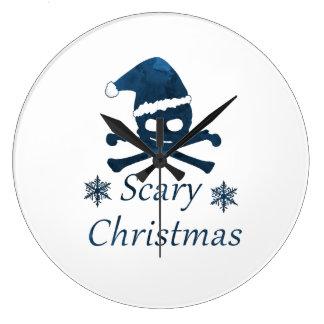 Relógio Grande Natal assustador