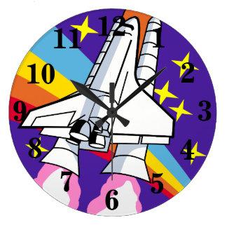 Relógio Grande Nave espacial do navio de Rocket
