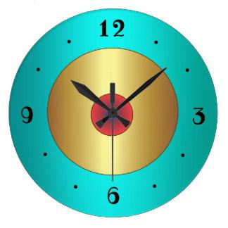 Relógio Grande O aqua rico com a cozinha do >Plain do centro do
