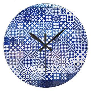 Relógio Grande O aquário de Lisboa telha o porto cerâmico do