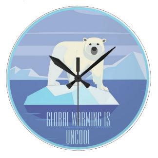 Relógio Grande O aquecimento global é Uncool: Apoie o acordo de