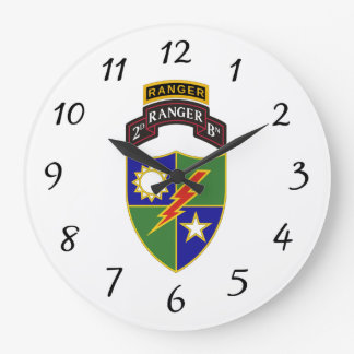 Relógio Grande ò batalhão - 75th guarda florestal w/Tab - pulso