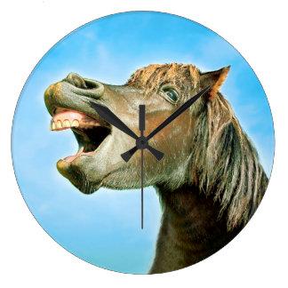 Relógio Grande O cavalo de riso