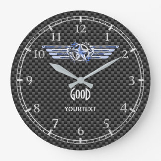 Relógio Grande O cromo do piloto do ar do monograma gosta das