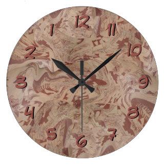 Relógio Grande O design de Inka cronometra para trás o vaso