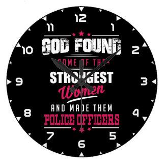Relógio Grande O deus fez a agentes da polícia a profissão
