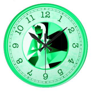 Relógio Grande o diamante é um pulso de disparo de parede do