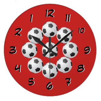 Relógio Grande O futebol cronometra para trás