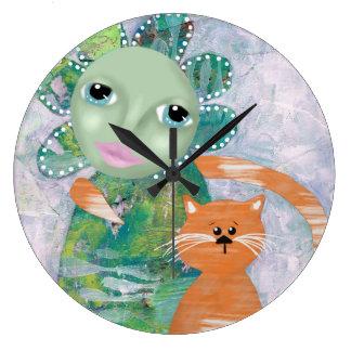 Relógio Grande O gato de meu desejo