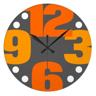 Relógio Grande O máximo - laranja