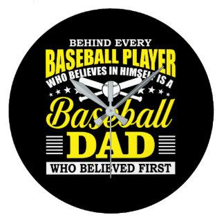 Relógio Grande O pai do basebol acredita no jogador de beisebol