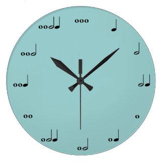 Relógio Grande O pulso de disparo da nota da música original