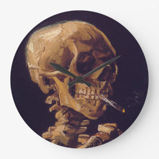 Relógio Grande O pulso de disparo de um cigarro ardente de Van